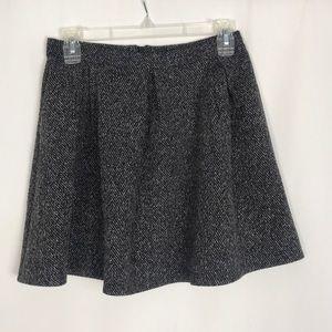 TopShop White, black, gray skirt